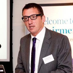 GGF Managing Director Giles Wilson