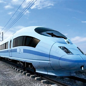 How the HS2 train might look. Illustration - HS2 Ltd