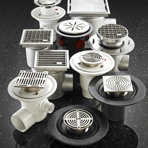 Harmer Drainage Stainless Steel Floor Drains