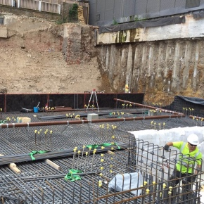 Harmer SML below ground drainage specified for Hilton Hotel