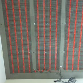Wall heating mats from Heat Mat