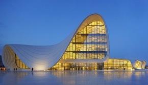 Heydar Aliyev Cultural Centre, Baku by Zaha Hadid
