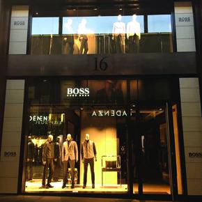 Hugo Boss Store Liverpool