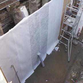 HydroBond waterproof membrane