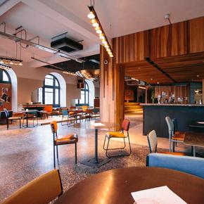 IKO's stylish Terrazzo flooring installed in a Brighton nightclub