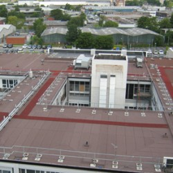 IKO's roofing solution at Wythenshawe Hospital