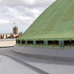 Mastic asphalt for Westminster Cathedral