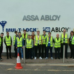Apprentice locksmiths