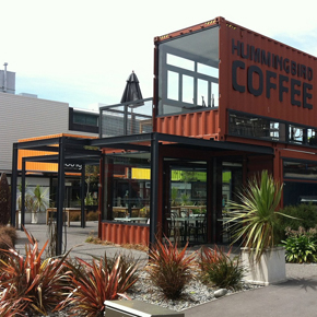 Modular construction – Coffee shop