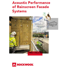 Addressing the acoustic performance of rainscreen cladding