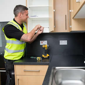 Novus Property Solutions' team carries out essential maintenance works