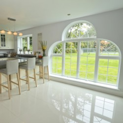 Energy efficiency achieved with bespoke feature windows