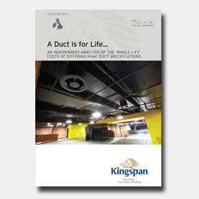 Kingspan KoolDuct ductwork system