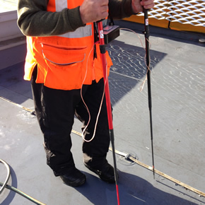 ILD waterproofing integrity testing