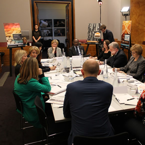 UK Construction Week diversity roundtable