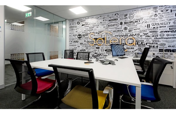 Audatex office fit out