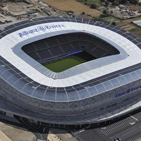 PVC materials used for Allianz Riviera Stadium