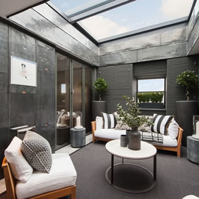 Bespoke rooflight solution from Glazing Vision