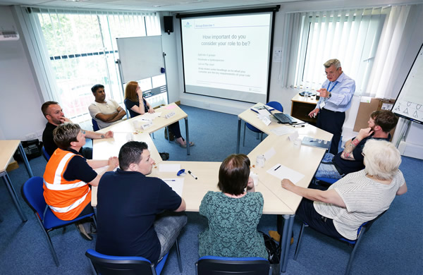 Weighbridge training with Aggregate Industries