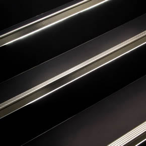 Tile profiles for stairs