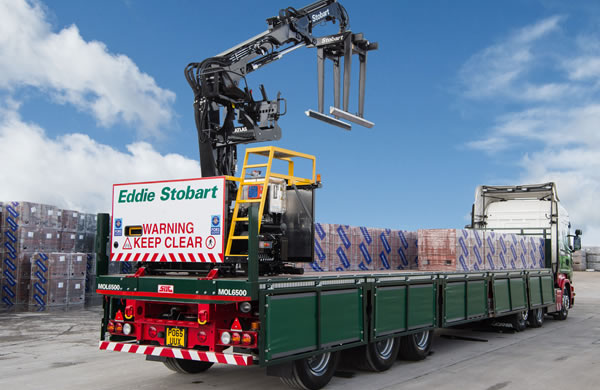 New Eddie Stobart vehicle fleet