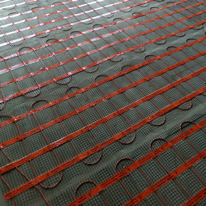 Heat Mat underfloor heating specified for Linden House development
