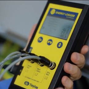 Measuring power factor with TinyTag Energy Loggers