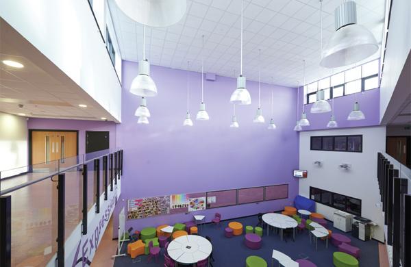 Interior considerations in education environments