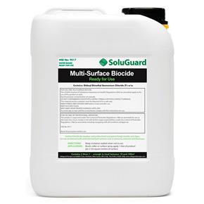 SoluGuard Multi-Surface Biocide, a biocidal solution