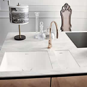 Kitchen sinks from DuPont Corian