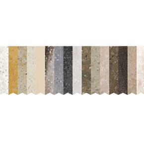 DuPont Corian Earth Heritage colour collection