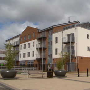 Acoustic products for Trinity Apartments, Parkgate