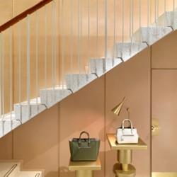 Armuralia polished plaster finish for J&M Davidson boutique