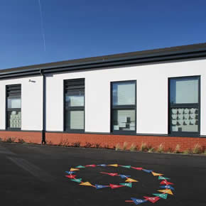 PURe windows specified for Carlyle Infant School installation
