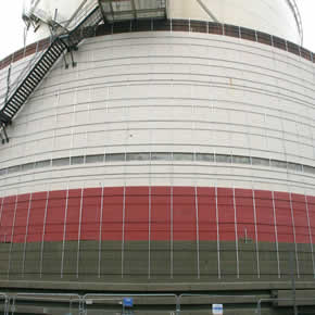 Concrete and structural repairs at National Grid's Isle of Grain site