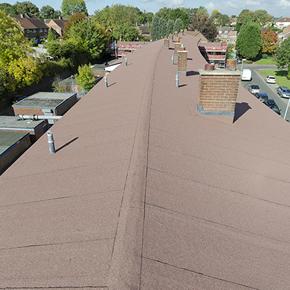 Euroroof BUR Warm Roof System