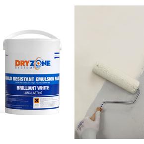Dryzone System Mould-Resistant Emulsion Paint