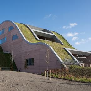 Green roof for Alder Hey Children's NHS Foundation Trust