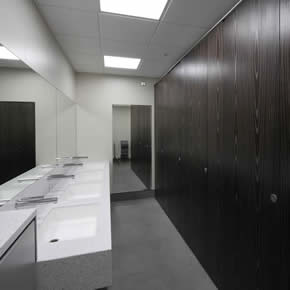 New washroom for Victorian office complex
