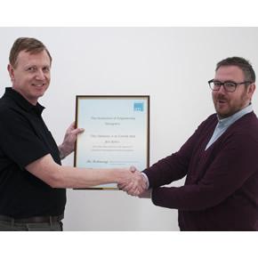 Neil Baker achieves CPTD status