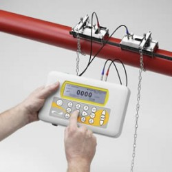 Energy saving with Micronics Portaflow 220