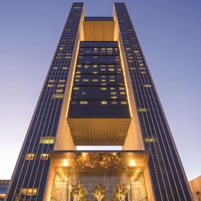 Reynaers facade specified for Four Seasons Hotel in Manama