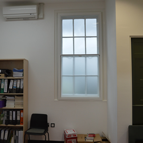 Selectaglaze secondary glazing