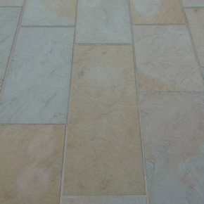 Natural Yorkstone used to create premium paving range