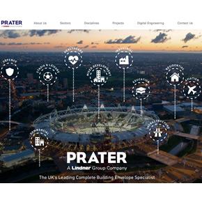 Prater's new website