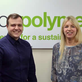 Axion Polymers' Laura Smith and Steve Bell