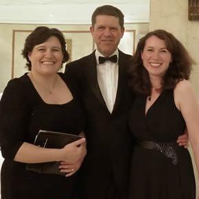 L-R: Debbie Willetts, Company Secretary Howells Patent Glazing, Kurt Jacobs (Midlands Business Insider) and Tracey Jackson, Marketing Manager Howells Patent Glazing