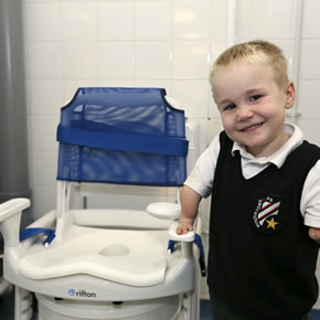 Clos-o-Mat toileting facilities for school children