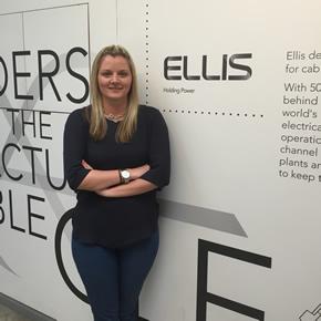 Claire Walker, Ellis UK Sales Administrator