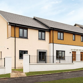 Silverwood Inspire cladding specified for Maidencraig Village development